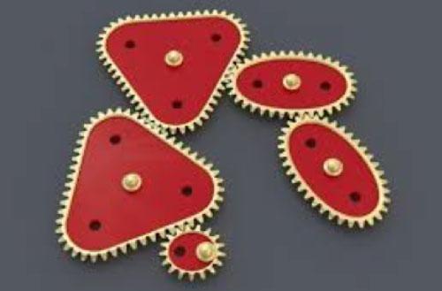Квадратные, треугольные, овальные зубчатые колеса <br> как это работает?